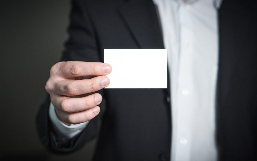 Visitenkarten – klein, aber mit großer Wirkung