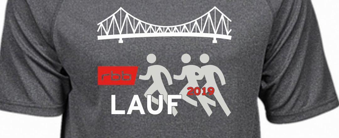 """Startschuss: Verkauf des Funktionsshirts """"rbb Lauf 2019"""" hat begonnen"""