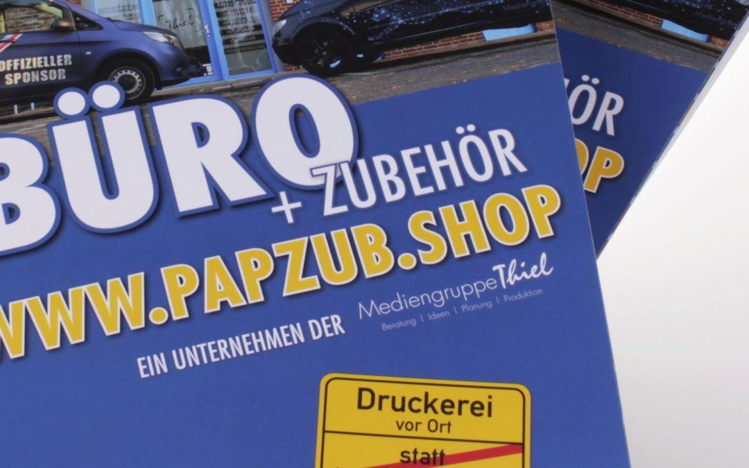 PapZub GmbH: Neuer Büromittelkatalog jetzt erhältlich