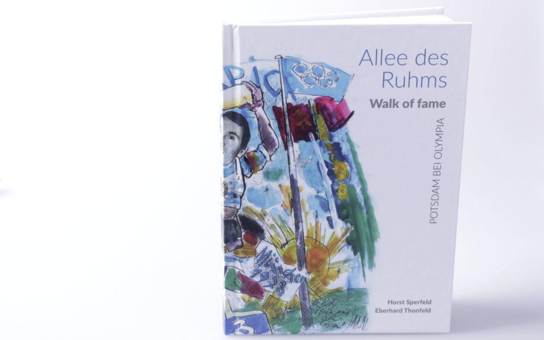 Buchdruck: Allee des Ruhms – Walk of Fame! Jetzt erhältlich!