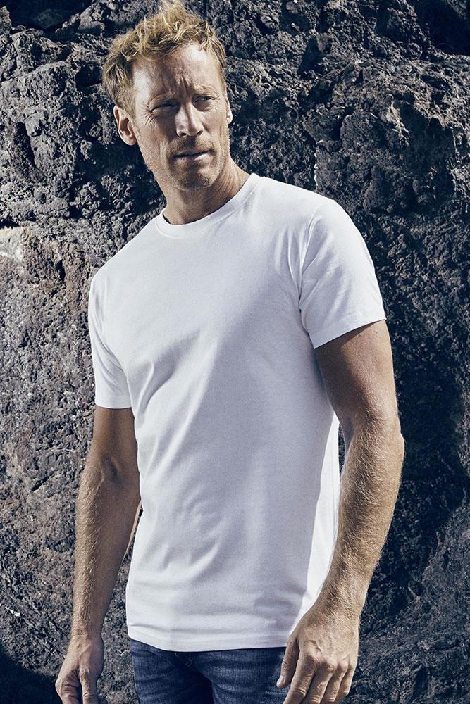 Beispiel Klassisches Tshirt der Textilaktion - wir ziehen Sie an!